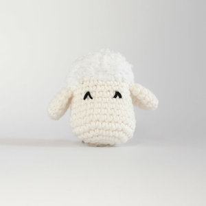 Cotton het schaap Knuffeldoek
